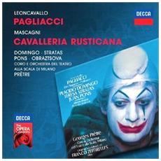 Leoncavallo - Pagliacci / Mascagni - Cavalleria Rusticana - Domingo (2 Cd)