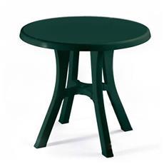 Tavolo Pol Contract D. 70 cm Smontabile Verde Bosco