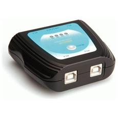 Switch Manuale 4 Porte Usb 2.0 Per Stampanti