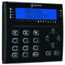 Tastiera LCD Nera con lettore di prossimità e Terminali I / O