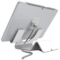 Cl12cuthwb Universal Tablet Holder - Supporto Di Sicurezza Bianco - Cavo Coiled