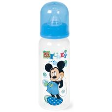 Biberon Polipropilene / silicone Mickey Collo Stretto Ml240 Mondo Baby