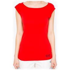 T-shirt Donna Sea World Stretch M Rosso