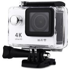 Videocamera H9 1080p 4k / 30fps 30m Impermeabile Per Sport D'azione Wifi
