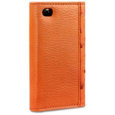 """117-076-068 3.5"""" Custodia a libro Arancione custodia per cellulare"""