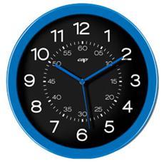 orologio da parete ø30cm nero / blu oceano cep pro happy