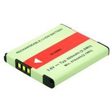 Camera Battery 3.7v 680mah.