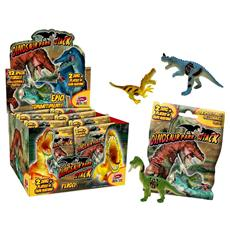 Dinosaur Park Attack - Bustina 2 Dino + Playset