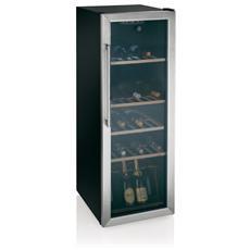 Cantinetta Vino HWC2360DL Classe B Capacità 70 Bottiglie Colore Nero