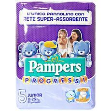 Progressi 5 11-25 Kg. x 20 Pezzi Pannolini - Linea Bimbo