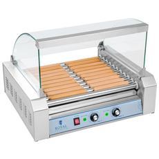 Cuoci Hot Dog - 11 Rulli - Acciaio Inox