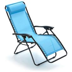 Sdraio Grand Relax Azzurro - 05394