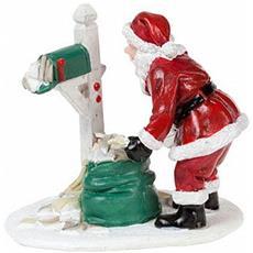 Babbo Natale Con Lettere - Santa's Mailbox Cod. 608252 Presepe