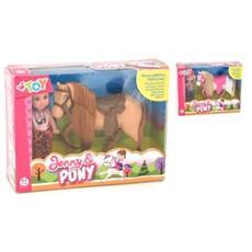 Bambola Jenny C / pony Ass-ta Cf1