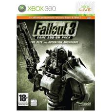 X360 - Fallout 3 Game Add On Pack Anchorage / The Pitt