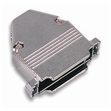 IGPMM 25-G Custodia per D-Sub in Metallo 25 poli Colore Grigio