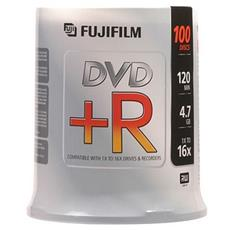 Box Dvd R 4 7gb 16x Campana 100 Pz