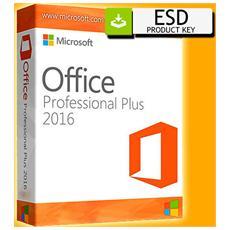Office 2016 Professional Plus Vl (5 Pc) 32 64 Bit - Esd Version