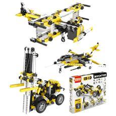 Set 120 In Uno Inventor Gioco Di Costruzioni Motorizzato 02477