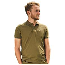 Polo Shirt Olive Green Verde L