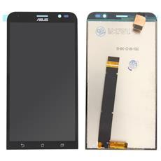 Lcd Display Touch Screen E Vetro Senza Frame Nero Per Zenfone Go 5.5