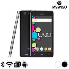 "Uno Nero Dual Sim Display 5"" HD Octa Core Ram 2GB Storage 32GB +Slot MicroSD Wi-Fi + 4G Fotocamera 13Mpx Android - Europa"