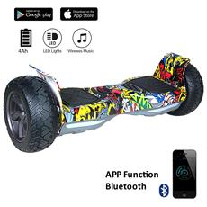8.5 Pollici Bluetooth+app Suv Hoverboard Monopattino Elettrico Scooter Smart Balance Allroad Skateboard Pink