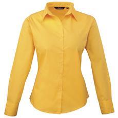 Camicia Maniche Lunghe Donna (it 38) (girasole)