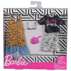 FXJ65 Barbie - BiPack Abiti Fashion: Viva l'Estate