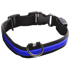 Collare Luminoso Blu Collare XL