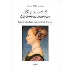 Argomenti di letteratura italiana
