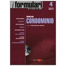 Formulario condominio. Con CD-ROM