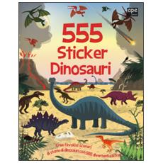 555 sticker dinosauri