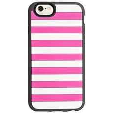 StripeVest pink / grigio iPhone 6