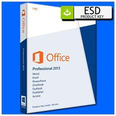 Office 2013 Professional Plus Vl (1 Pc) 32 64 Bit - Esd Version
