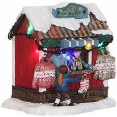 Negozio Di Vestiti - Winter Clothes Shop Cod. 1031338 Presepe