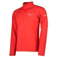 Magliette Salewa Ortles Cubic Pl L / s Tee Abbigliamento Uomo