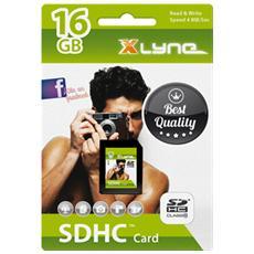 SDHC 16GB, SDHC, Nero, Class 4