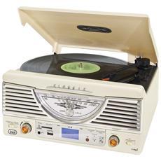 Stereo Giradischi Encoding Tt 1062 E Bianco