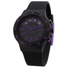 Smartwatch Pop Impermeabile 10ATM Bluetooth in Silicone per Android e iOS Nero / Viola - Italia