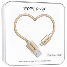 Cavo da Lightning a USB per iPhone / iPod / iPad 2 m Colore Champagne