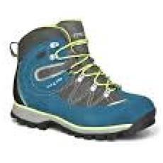 Scarpone Trekking Donna Annette Evo Wp Blu Giallo 4