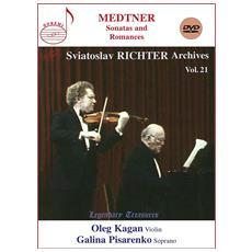 Medtner - Sonatas And Romances - Oleg Kagan / Galina Pisarenko