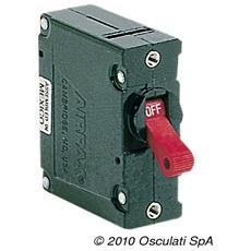 Interruttore Airpax magnetoidraulico 10 A