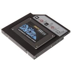 Convertitore da Masterizzatore Esterno Slim a HDD-SSD con cavo USB retraibile -Bianco