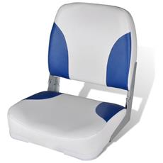 Sedile Per Barca Con Schienale Pieghevole E Cuscino 41x 36 X 48 Cm