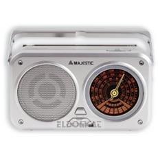 Am/fm/sw, 230v-50hz, Rosso/nero - Radio Rt-182 Bk/rd Am/fm Al.mista