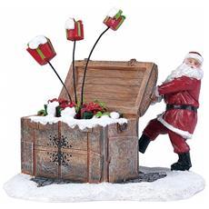 Babbo Natale Con Regali - Santa's Gift Box Cod. 611086 Presepe