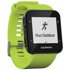 Smartwatch Forerunner 35 GPS Impermeabile 5 ATM con Cardiofrequenzimetro Colore Nero / Verde