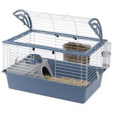 Gabbia Per Conigli E Porcellini Casita 80 Bianca